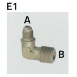 Redukce rohová E1-4B, 1 Ks