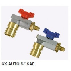 Ventil červený CX-AUTO-R1/4SAE