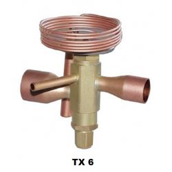Ventil expanz. TX6-N17MM R407C