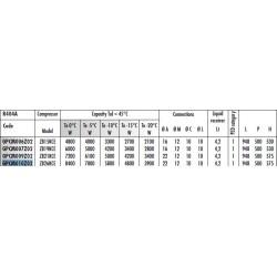 Kondenzační jedn. GPCM010Z02
