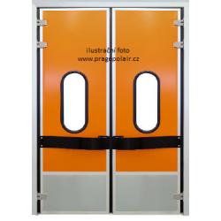 Dveře TN dvoukřídlé 2400X2400