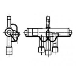 Ventil 4cestný STF-0413G