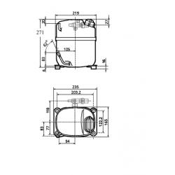 Kompresor CAJ9480Z