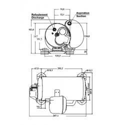Kompresor HGA4512Z-F