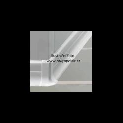 Lišta podlahová PVC